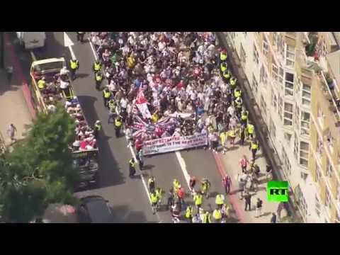 مظاهرات في لندن تطالب بإعادة التصويت بشأن بريكست