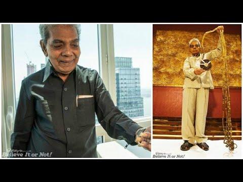 شاهد صاحب أطول أظافر في العالم يقصها للمرة الأولى بعد 66 عاما