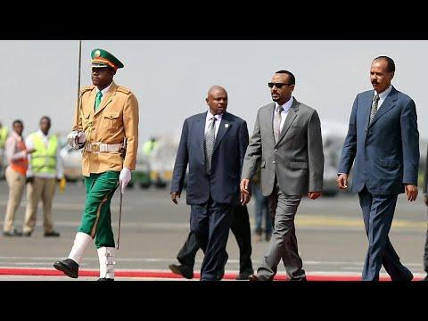رئيس إريتريا يصل إلى إثيوبيا