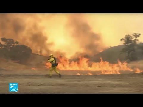 شاهد الجفاف يؤجج الحرائق في كاليفورنيا