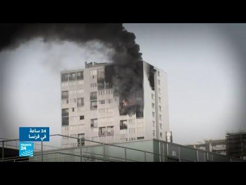 شاهد اتهام طفل في العاشرة بالتسبب في حريق هائل في أحد المباني