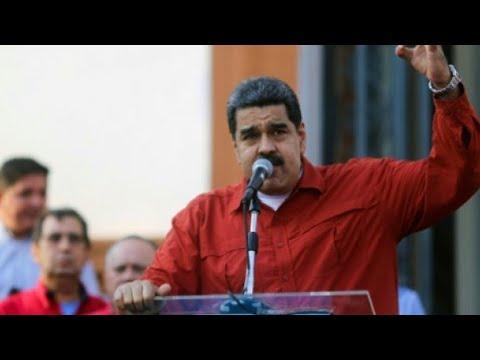 شاهد منظمة الدول الأميركية تتوقع إسقاط مرتقب لـ مادورو عسكريًا