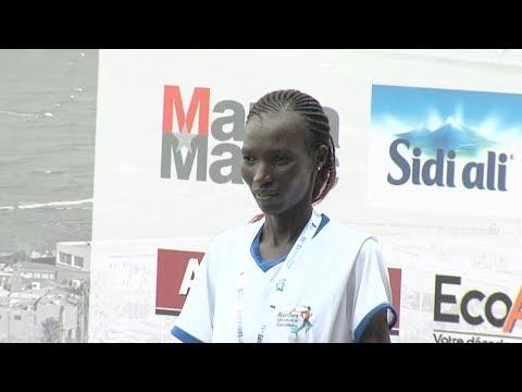 شاهد سيطرة كينية مطلقة على منافسات الماراثون الدولي للدار البيضاء