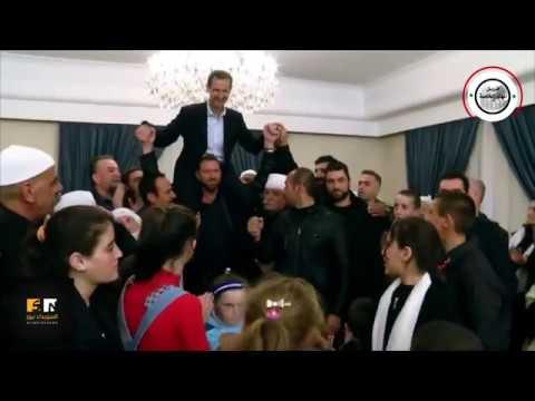 شاهد مختطفو السويداء المحررون يحملون الأسد على الأكتاف