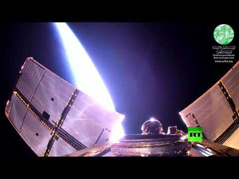 شاهد أول ظهور في الفضاء للقمر الصناعي المصري الجديد