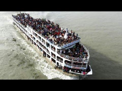 شاهد وفاة 54 شخصًا بعد غرق عبّارة في نهر دجلة في الموصل