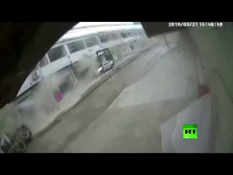 شاهد لحظة انفجار ضخم زلزل الأرض في الصين