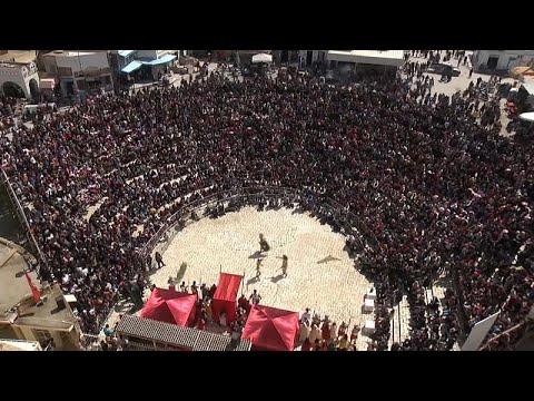 فيديو مهرجان يستعيد أمجاد تونس وحضارة 1900 عام في المهدية