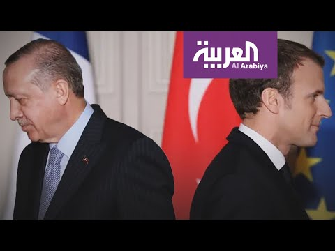 شاهدماكرون يكشف عن علاقة تركيا بجماعات داعشية