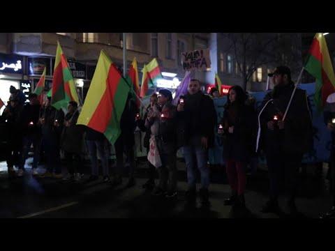 شاهد الآلاف يحتشدون في برلين