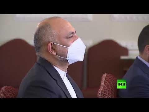 شاهد وزير الخارجية الإيراني يستقبل وفدًا أفغانيًا في طهران
