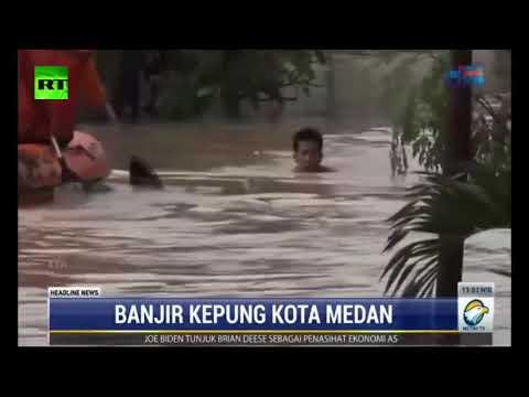 شاهد فيضانات عارمة تجتاح إندونيسيا وأنباء عن سقوط قتلى