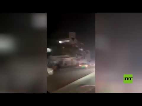 شاهد انتشار أمني مكثف في العاصمة العراقية بغداد