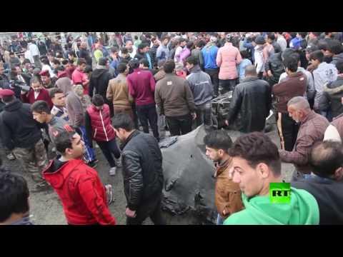 صوت الإمارات - شاهد آثار التفجير في مدينة الصدر في بغداد