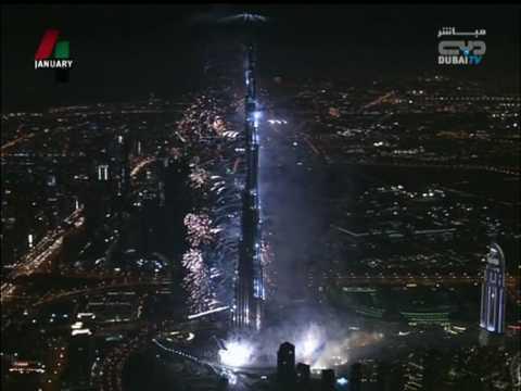 صوت الإمارات - لحظات افتتاح برج خليفة في دبي