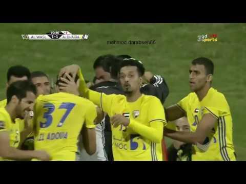 صوت الإمارات - بالفيديو تعادل ايجابي بين فريقي الوصل والظفرة
