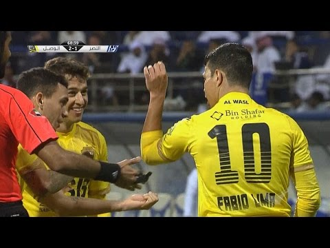 صوت الإمارات - شاهد أهداف مباراة النصر أمام الوصل