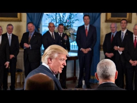 friend comey tried to blend in with