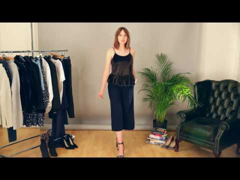 how to wear culottes for work