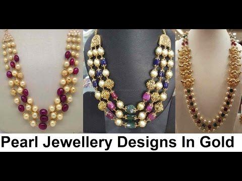 pearl jewellery designs