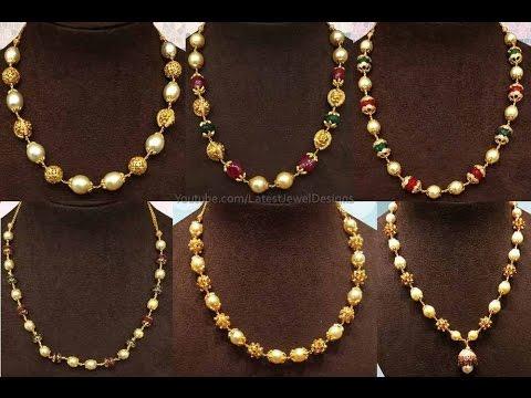 pearl chain designs