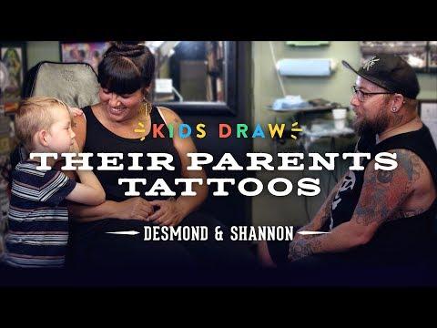 desmond designs a tattoo