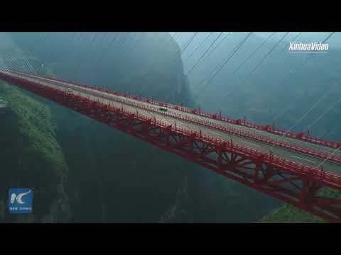 feel the thrill of driving on worlds highest bridge
