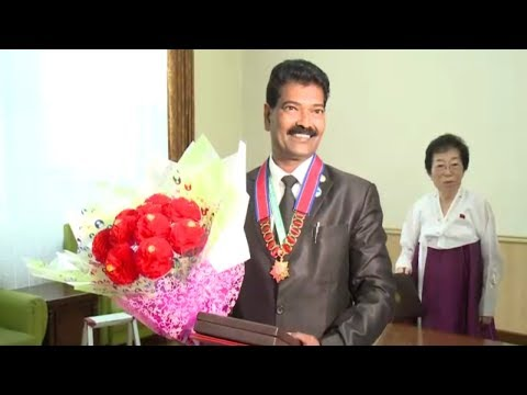 dprks doctorate in sports science conferred on chairman