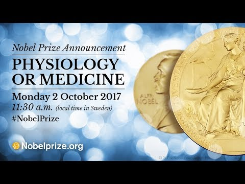 announcement of the nobel prize in physiology