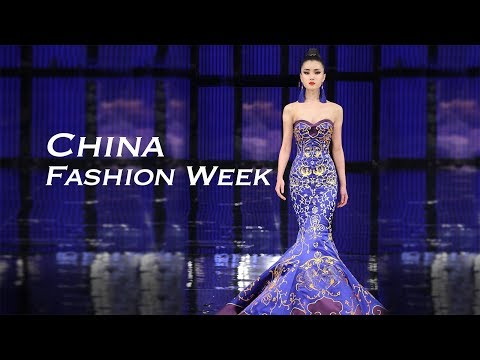 china fashion week raises the curtain