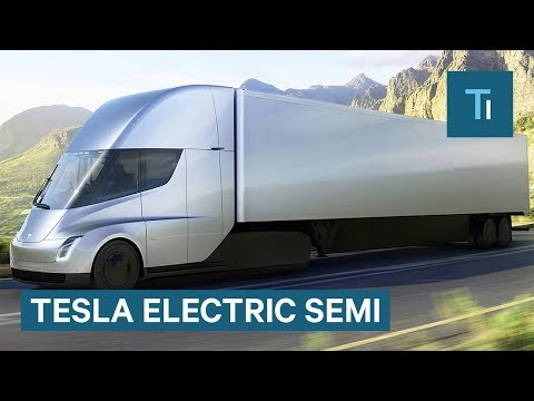 elon musk gives first look at teslas electric
