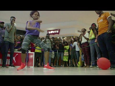 nigerian dancer breaks 'longest dance'