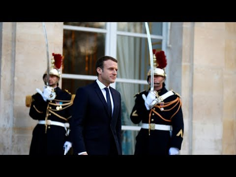 macron calls for much stronger mobilization