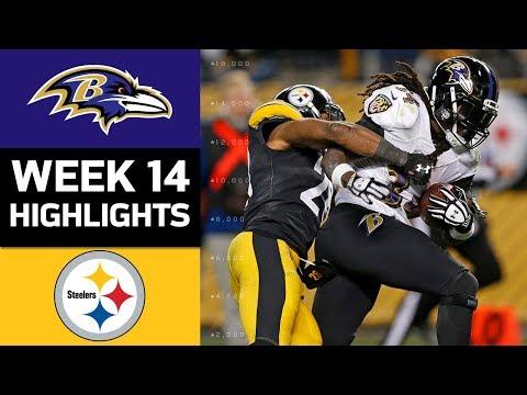 ravens vs steelersnfl week 14 game