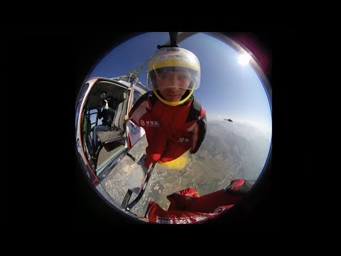 china grabs third place at wingsuit flying world championship