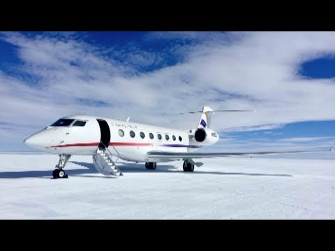 chinese commercial aircraft makes first landing on antarctica