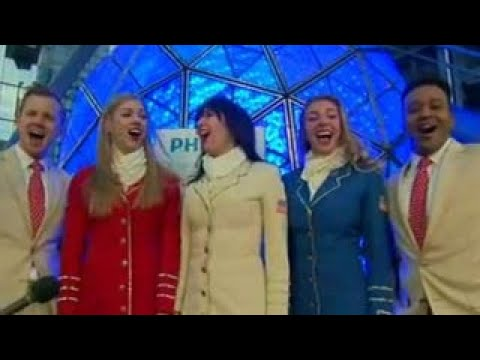 uso troupe performs patriotic medley in times square
