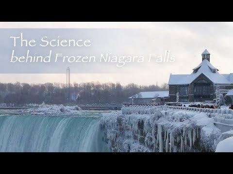 the science behind frozen niagara falls