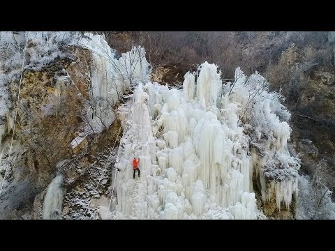 a crystal and ice wonderland in ne china