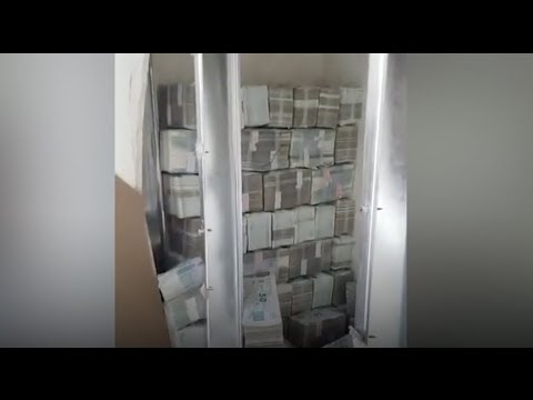 huge sums of cash found in a secondhand houses walls