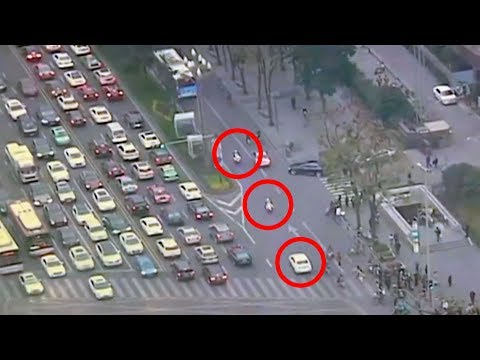 amazing video of police escort saving girls life in coma
