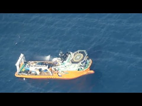 oil tanker collision location of wreck confirmed cleanup work underway