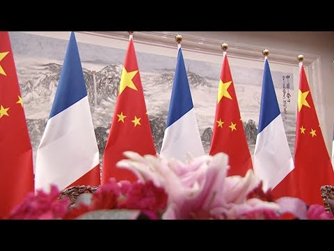 china organizes several state events to welcome french president