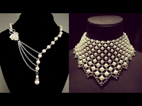unique pearl necklace designs