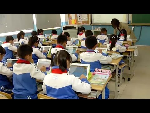 chinese cities introduces tablets in classroom