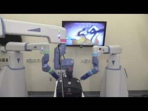 new robotic surgery system debuts