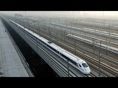 china's new highspeed railway shortens xian