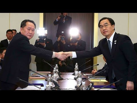 dprk rok hold first formal dialogue