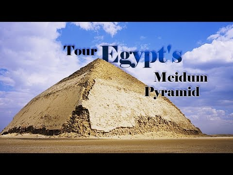 tour egypts meidum pyramid