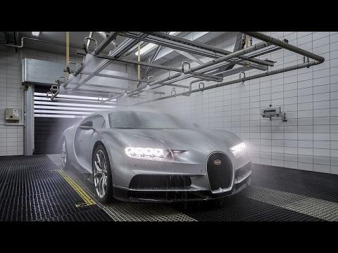 صوت الإمارات - شاهد جولة داخل مصنع بوغاتي تشيرون